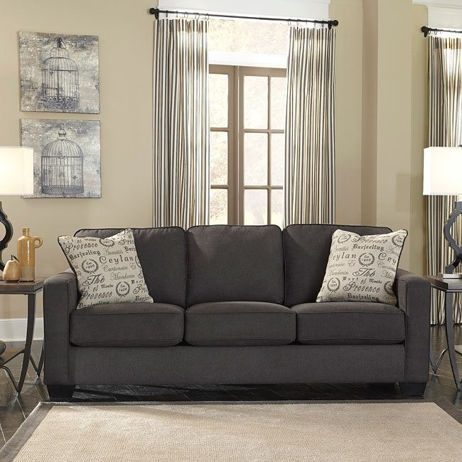 Alenya Charcoal Sofa Signature Design By Ashley