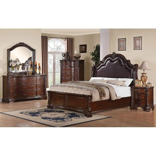 Maddison Low Profile Bedroom Set