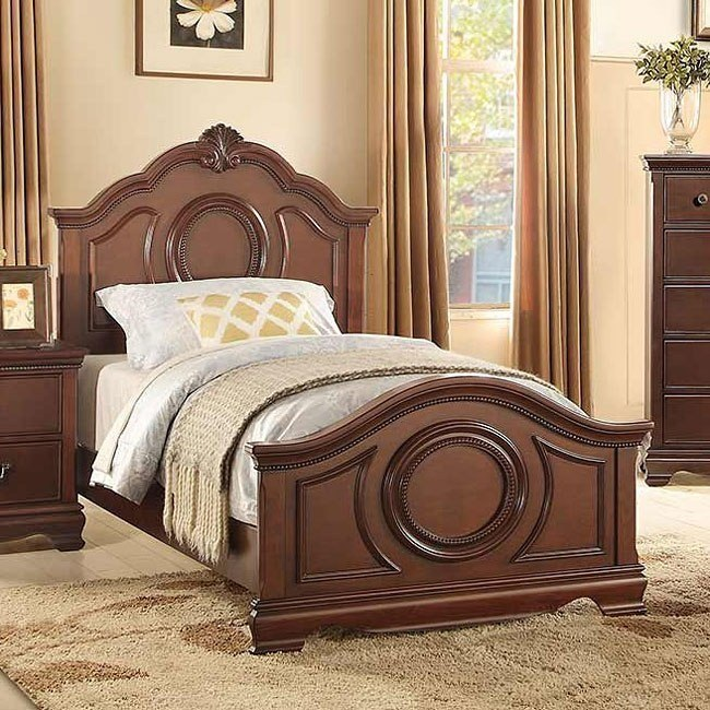 Lucida Youth Panel Bed (Cherry)
