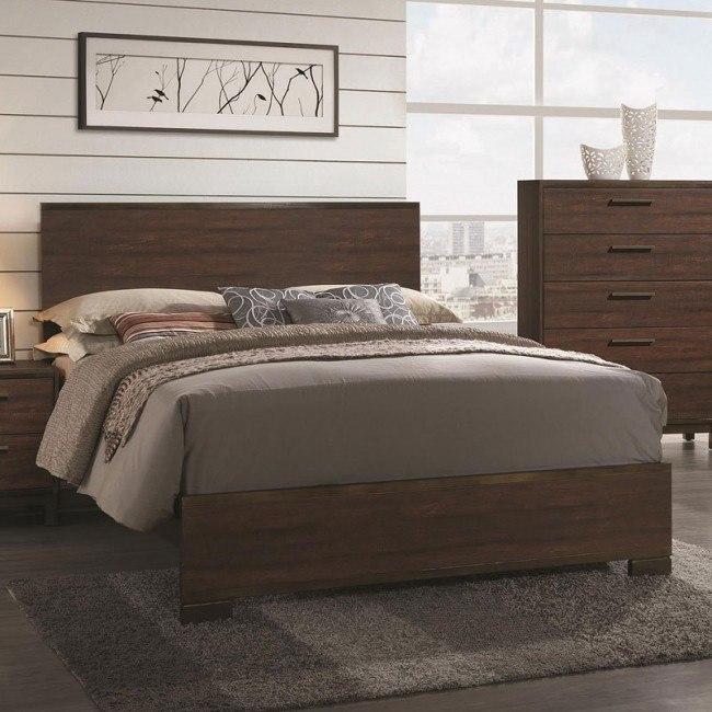 Edmonton Panel Bed