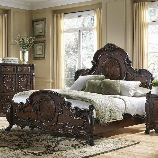 Abigail Panel Bed