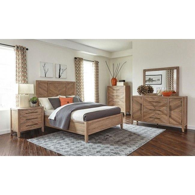 Auburn Panel Bedroom Set