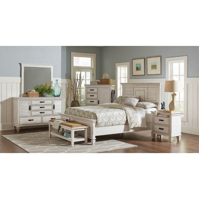 Liza Panel Bedroom Set By Coaster Furniture