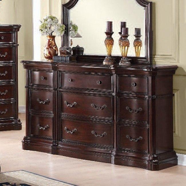 Veradisia Marble Top Dresser