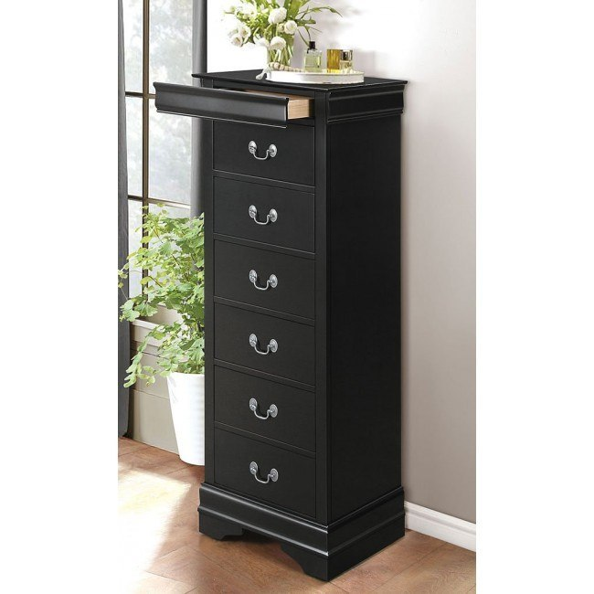 Mayville Lingerie Chest (Black)