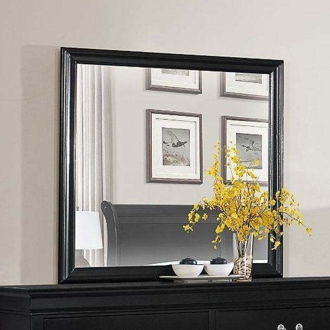 Mayville Mirror (Black)