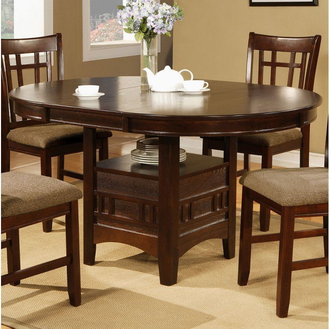 Empire Dining Table (Espresso)