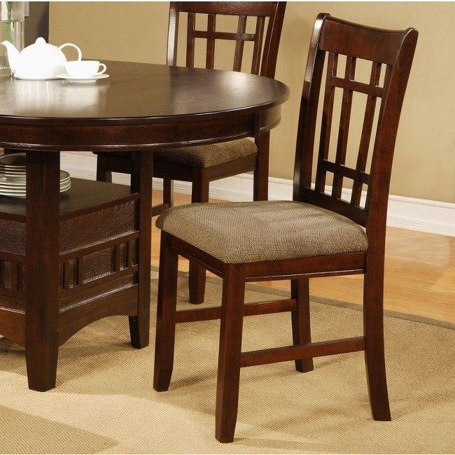 Empire Side Chair (Espresso) (Set of 2)