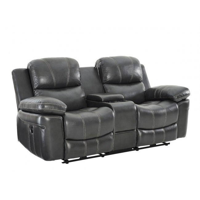 Cadence Power Dual Reclining Console Loveseat