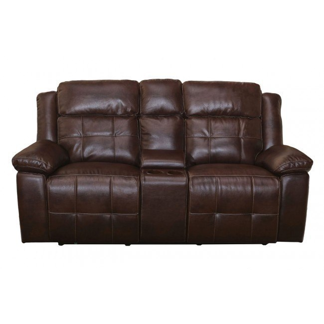 Clayton Power Reclining Console Loveseat w/ Power Headrest
