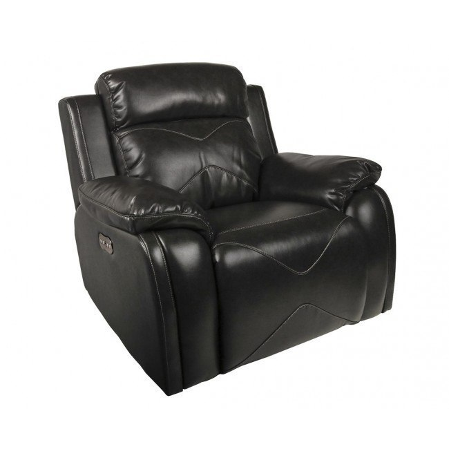 Vigo Power Swivel Glider Recliner w/ Power Headrest