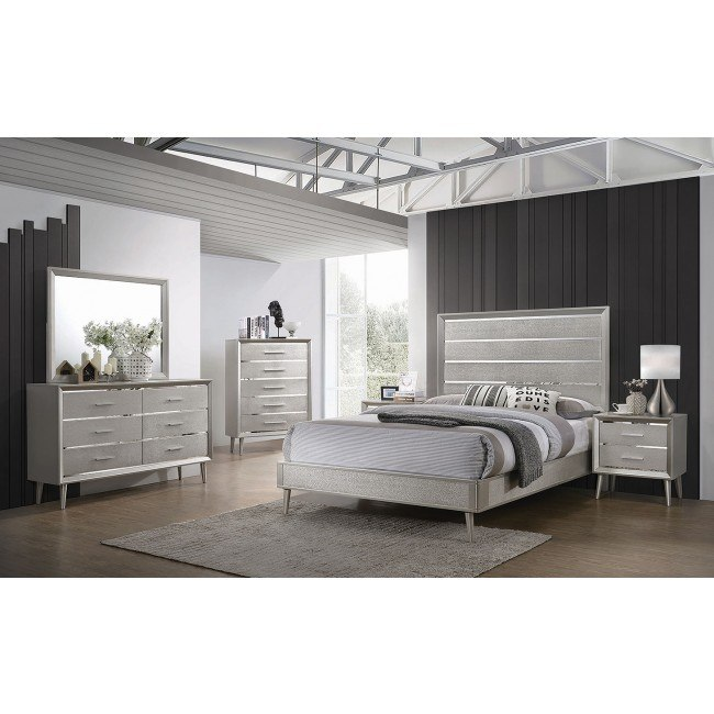 Ramon Panel Bedroom Set By Coaster Furniture Furniturepick