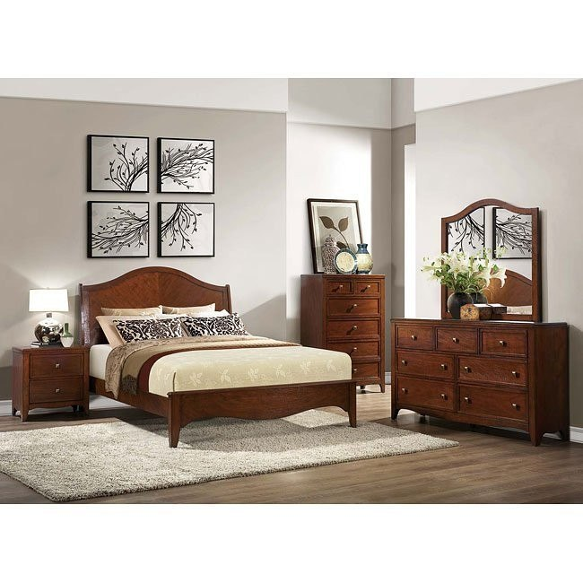 Verity Low Profile Bedroom Set