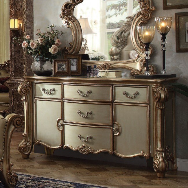 Vendome Dresser (Gold Patina)