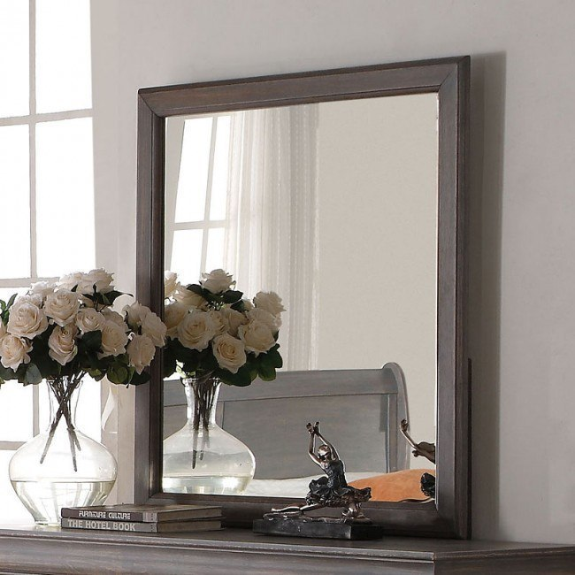 Louis Philippe III Mirror (Gray)