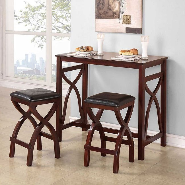 Delling 3-Piece Counter Height Dinette