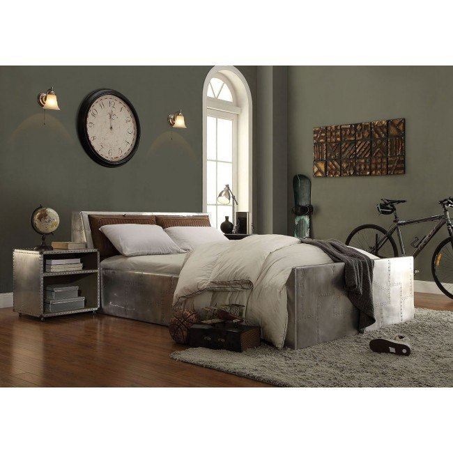 Brancaster Metal Storage Bedroom Set