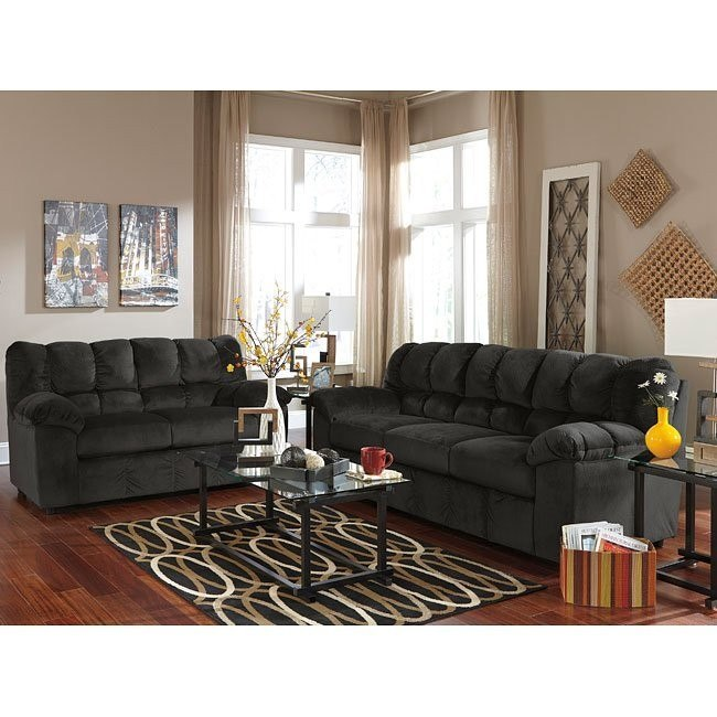 Julson Ebony Living Room Set