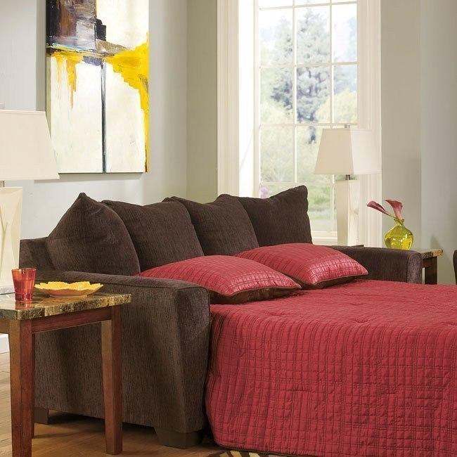 Enjoyable Brogain Walnut Queen Sofa Sleeper Pdpeps Interior Chair Design Pdpepsorg
