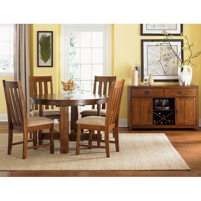 mission dining room sets | Urban Mission Dining Room Set by Liberty Furniture ...