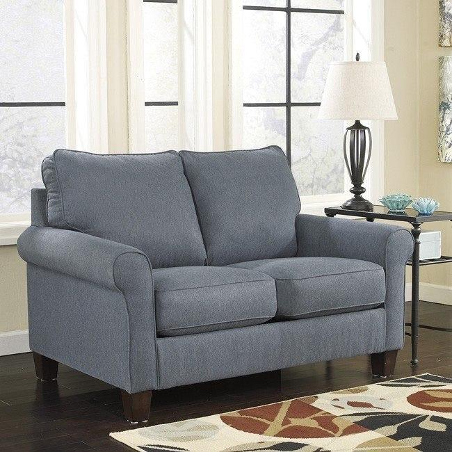 Zeth Denim Twin Sofa Sleeper By Signature Design By Ashley