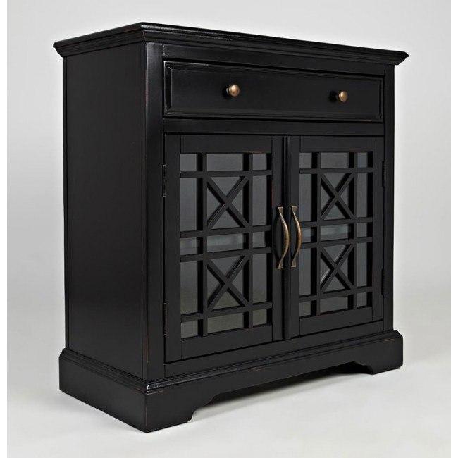 Craftsman 32 Inch Accent Cabinet (Antique Black)