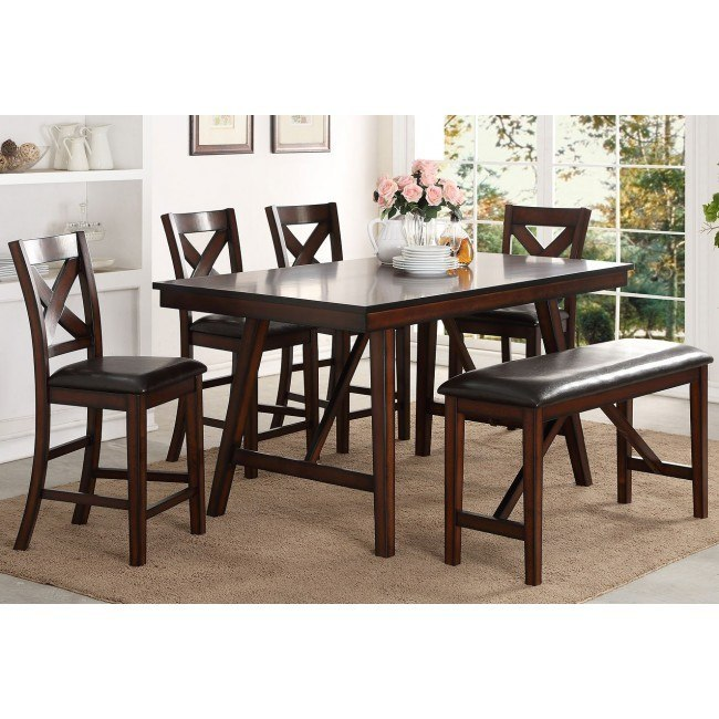 Vernon Counter Height Dining Room Set