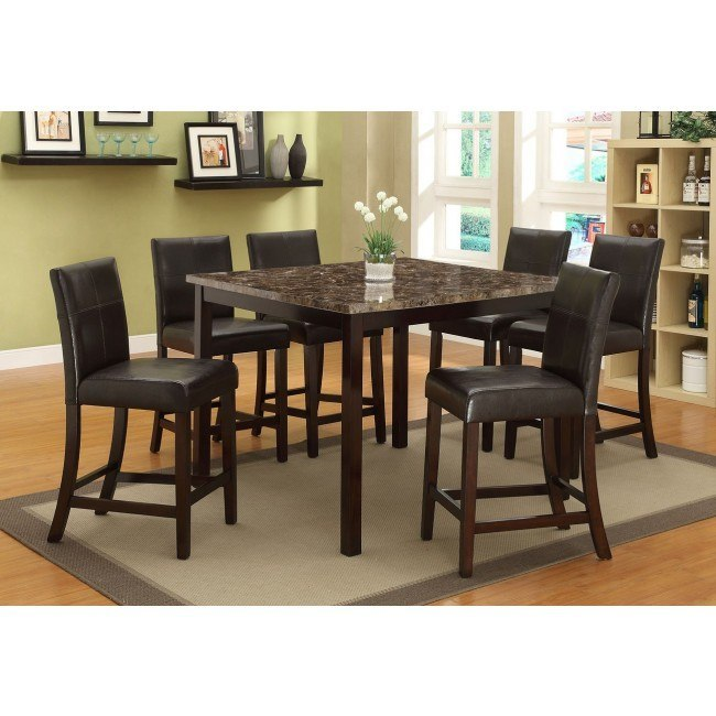 Pompei Counter Height Dining Room Set