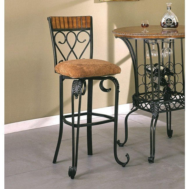 Alyssa Swivel Bar Chair (Set of 2)