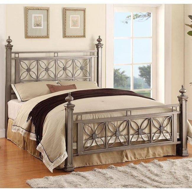 Virginia Queen Iron Bed