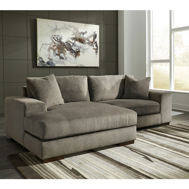 Manzani Graphite Left Chaise Sectional
