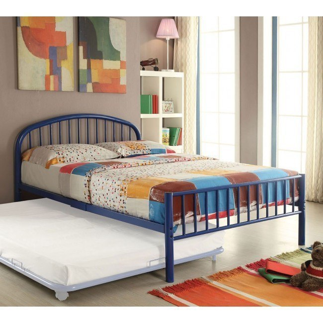 Cailyn Youth Metal Bed (Blue)