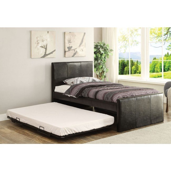 Jandale Twin Upholstered Bed w/ Trundle