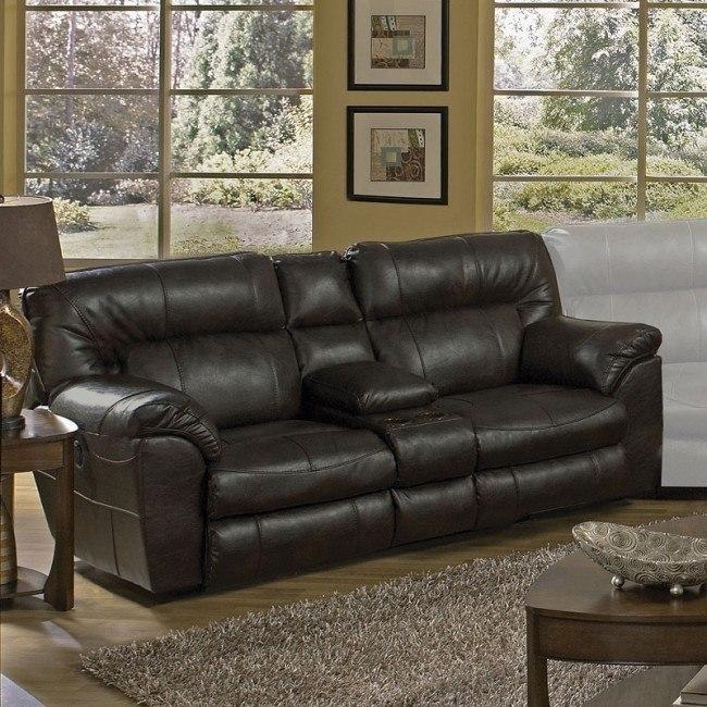 Fabulous Nolan Extra Wide Reclining Loveseat W Console Godiva Inzonedesignstudio Interior Chair Design Inzonedesignstudiocom