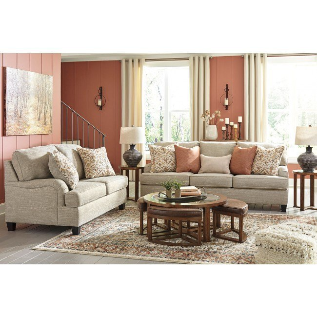 Almanza Wheat Living Room Set By Signature Design By