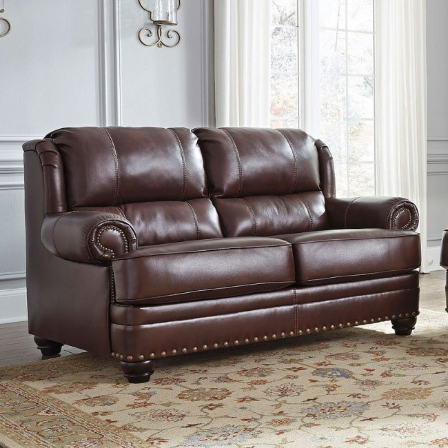 Glengary Chestnut Loveseat