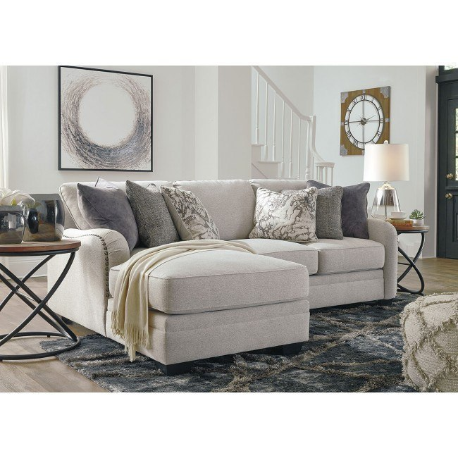 Dellara Chalk Modular Small Sectional