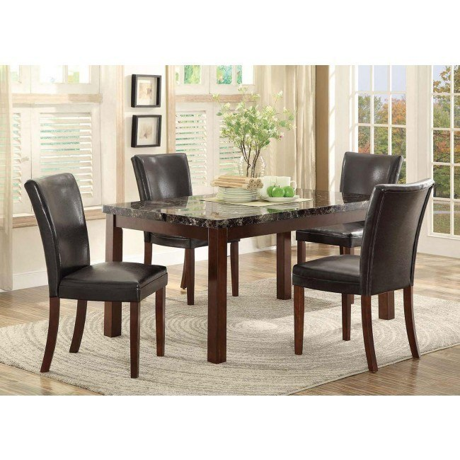Belvedere II Dining Table Set w/ Chair Choices