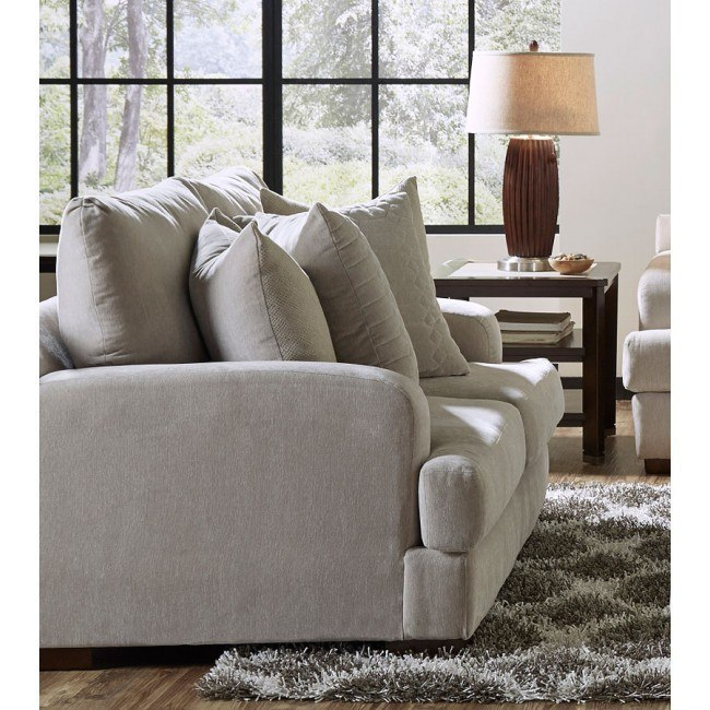 Gabrielle Living Room: Gabrielle Loveseat (Oyster) By Jackson Furniture