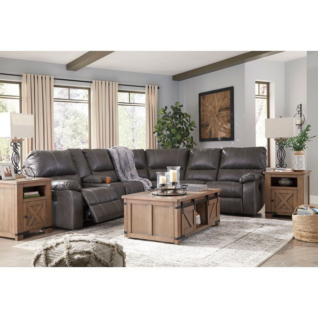 Peachy Warstein Gray Power Reclining Sectional Set Pdpeps Interior Chair Design Pdpepsorg