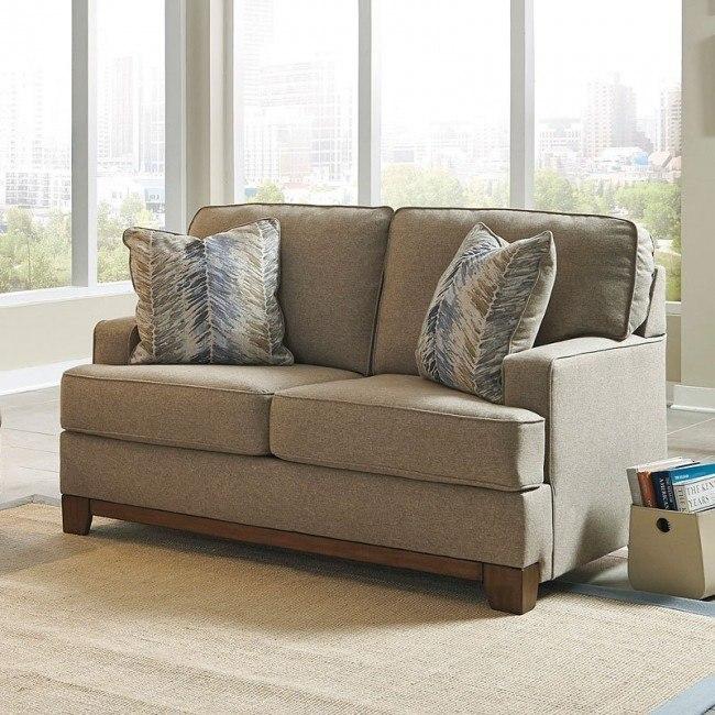 Hillsway Pebble Loveseat By Benchcraft Furniturepick