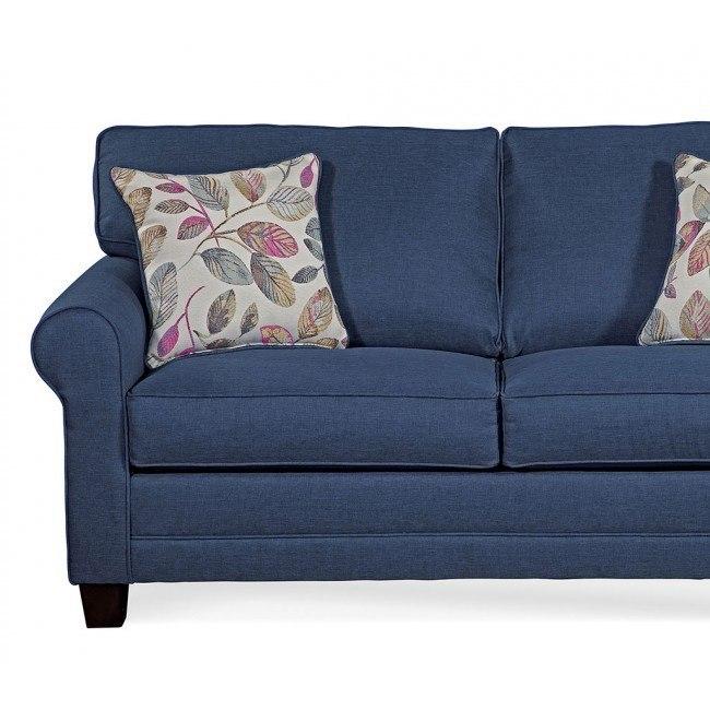 3700 Series Jitterbug Denim Sofa By