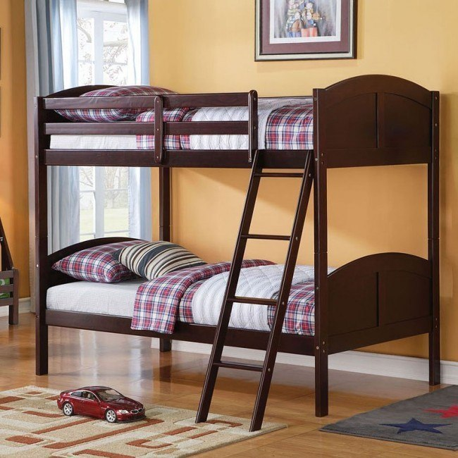Toshi Twin Bunk Bed