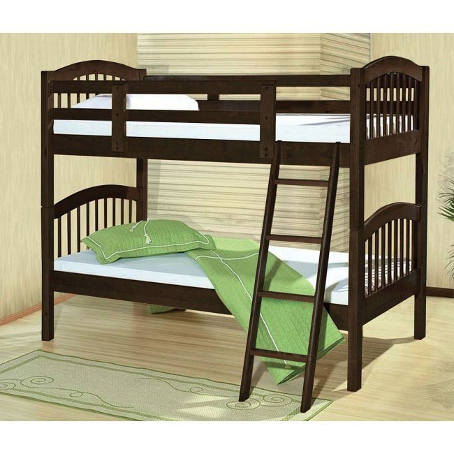 Manville Twin Bunk Bed (Espresso)