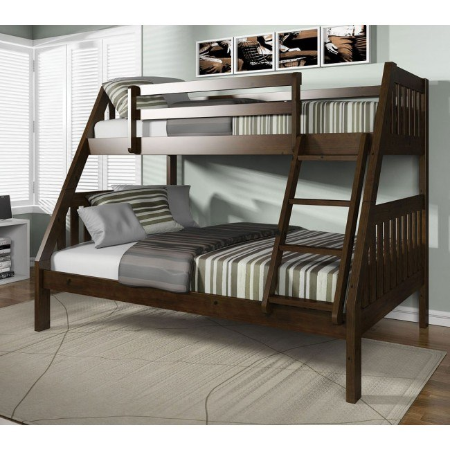 Ryo Twin over Full Bunk Bed (Espresso)