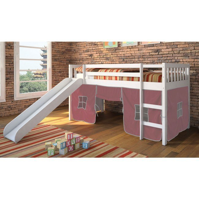 Wasila Loft Bed w/ Slide