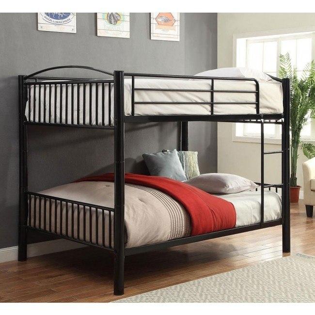Cayelynn Full Bunk Bed (Black)