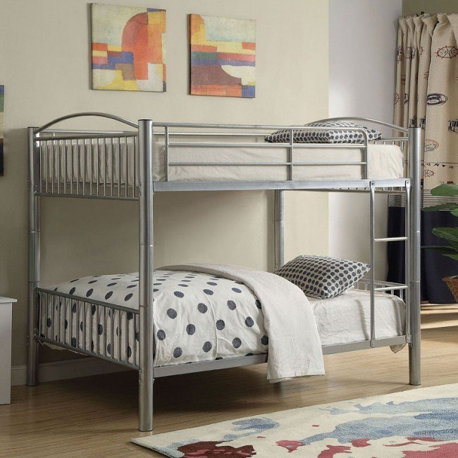 Cayelynn Full Bunk Bed (Silver)