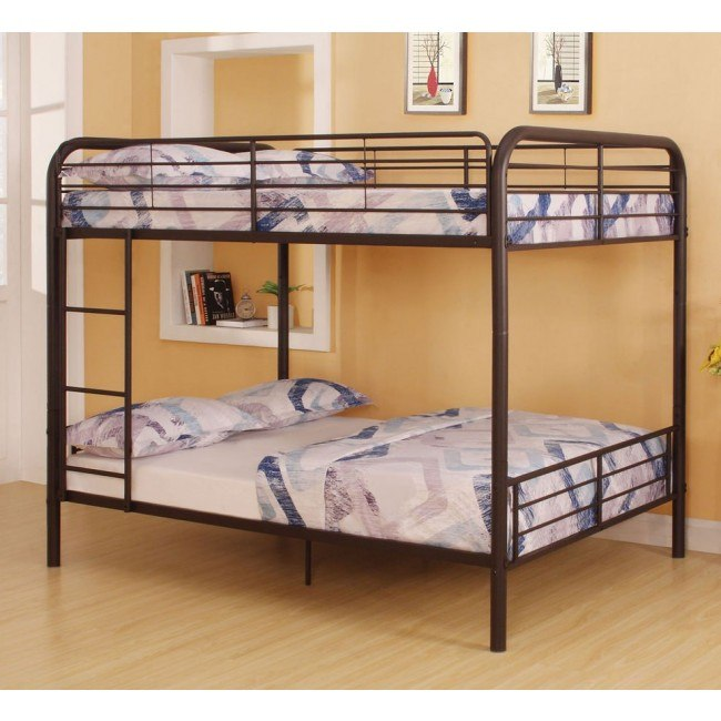 Bristol Full Bunk Bed (Dark Brown)