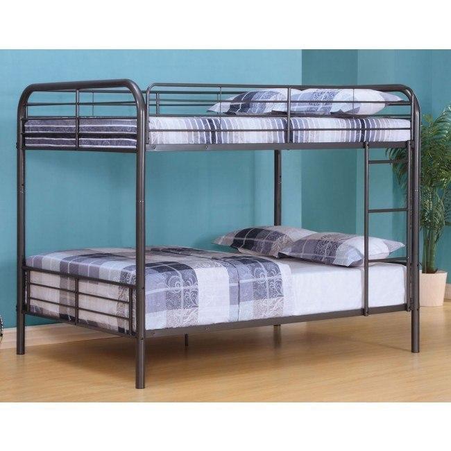 Bristol Full Bunk Bed (Gunmetal)